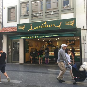 Australian Homemade Ice-Cream in Blankenberge