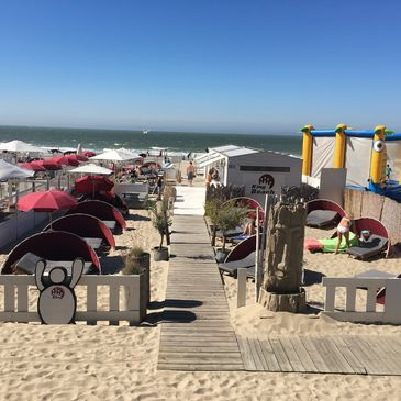 King Beach in Blankenberge