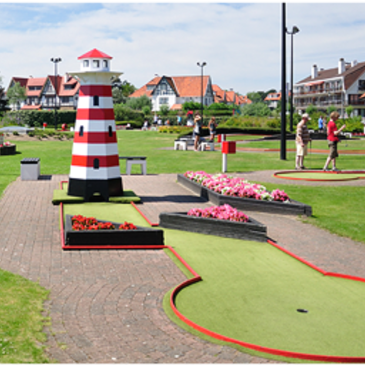 Mini- en approachgolf in Knokke