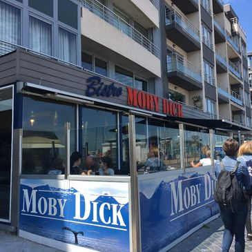 Moby Dick in Oostende