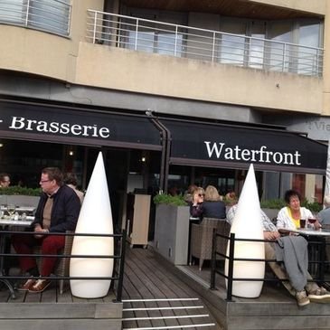 Waterfront in Oostende