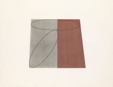 Robert Mangold: Works on paper 1975-2004 in Knokke-Heist