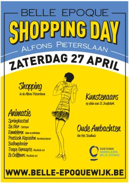 Belle Epoque Shopping Day in Oostende