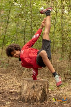 Danskamp: Breakdance danskamp 2019 in De Panne