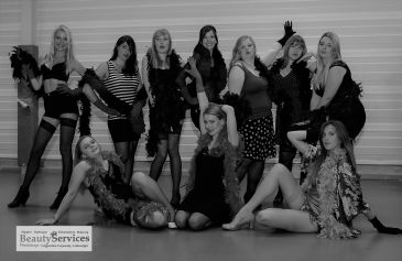 burlesque workshop in Oostende