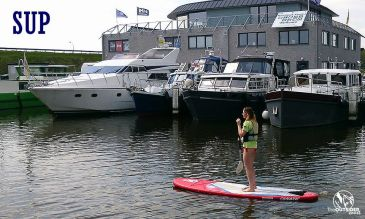 Initiaties SUP in Nieuwpoort