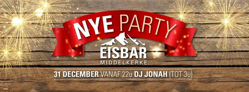 Middelkerke Eisbar NYE party Header Facebook promo