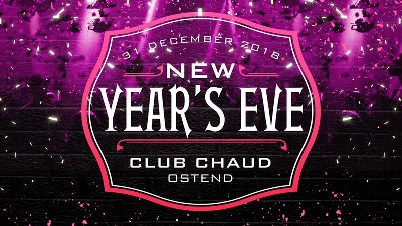 Chaud New Year's Eve Oostende Facebook Header Promo