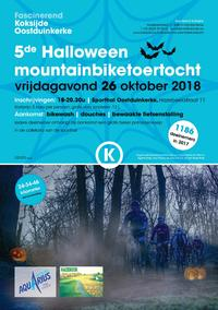 Mountainbiketocht Halloween Koksijde