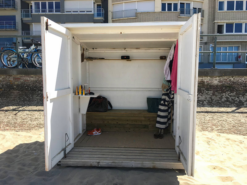 Strandcabine William Blankenberge