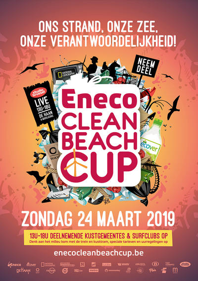 Eneco Clean Beach Cup poster